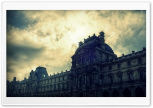 Sky of Musee du Louvre