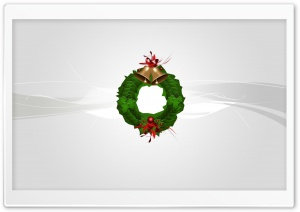 Christmas Wreath Silver