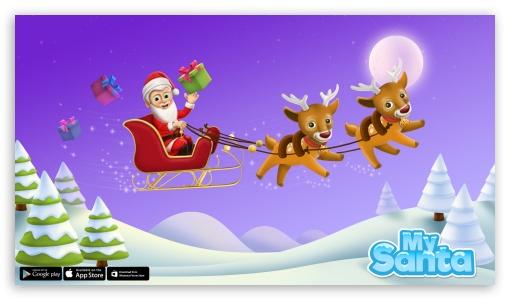 Download My Santa Claus - Christmas Time UltraHD Wallpaper