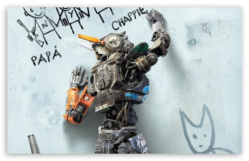 Download Chappie 2015 Movie UltraHD Wallpaper