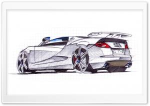 Seat Cupra GT Sketch 1