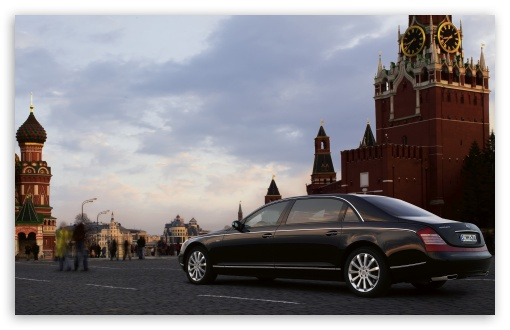 Download Maybach In Moscow UltraHD Wallpaper