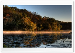 A Tinge of Fall, Jensen Lake,...