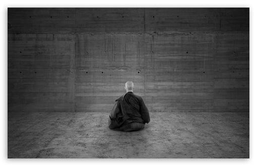 Download Zen Monk UltraHD Wallpaper