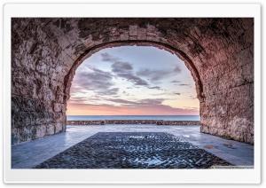 A Window to The Mediterranean...