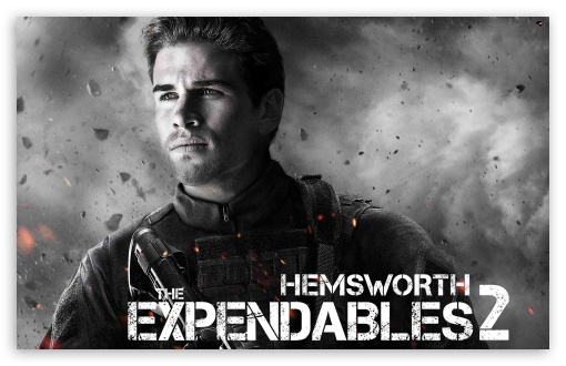 Download The Expendables 2 - Hemsworth UltraHD Wallpaper