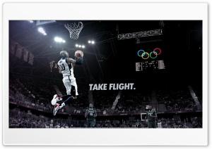 Kobe Bryant take flight