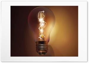 Bulb Lit Vector