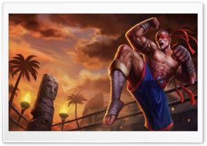 League Of Legends Lee Sin the...