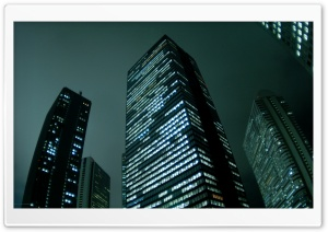 City Skyscrapers Night