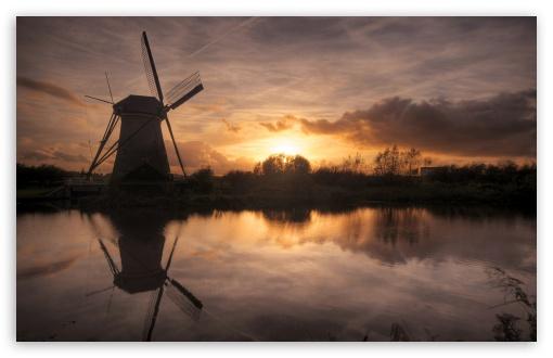 Download Windmill UltraHD Wallpaper
