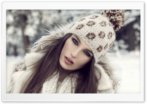 Girl With Winter Hat