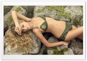 Danielle Knudson Model Posing
