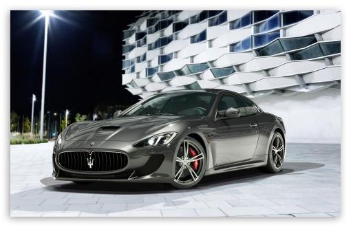 Download 2014 Maserati GranTurismo UltraHD Wallpaper