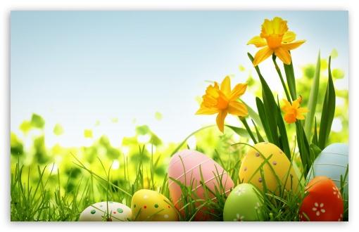 Download Happy Easter 2014 UltraHD Wallpaper