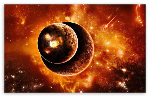 Download Planets Universe 6 UltraHD Wallpaper