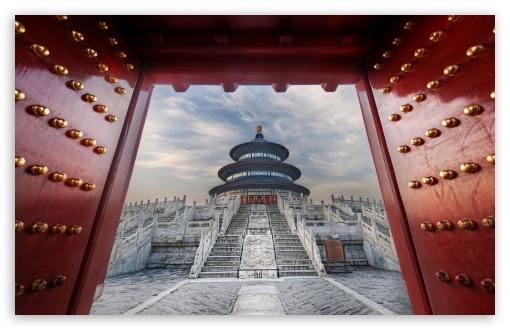 Download Temple Of Heaven, Beijing, China UltraHD Wallpaper