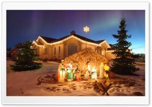 Outdoor Christmas Nativity Scene