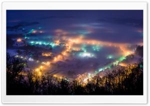 Winter night in Pregrada
