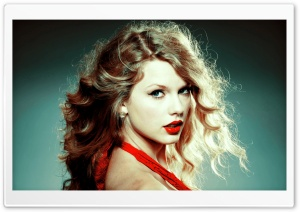 Taylor Swift in Red Dress