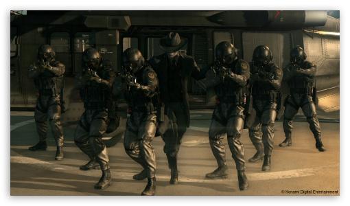 Download Metal Gear Solid V XOF Skull face UltraHD Wallpaper