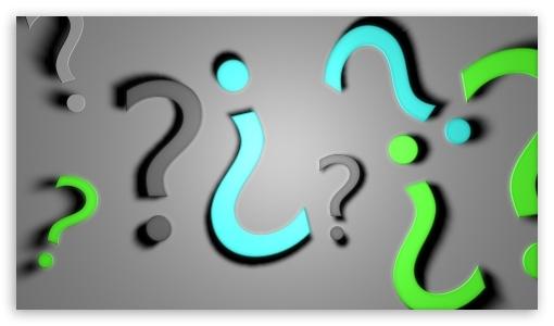 Download Question Mark UltraHD Wallpaper