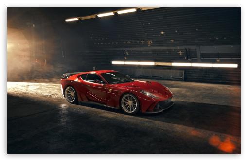 Download 2019 Novitec Red Ferrari 812 Superfast N... UltraHD Wallpaper