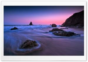 Purple Sunset Light