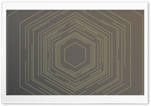 Hexagon Abstract Background...