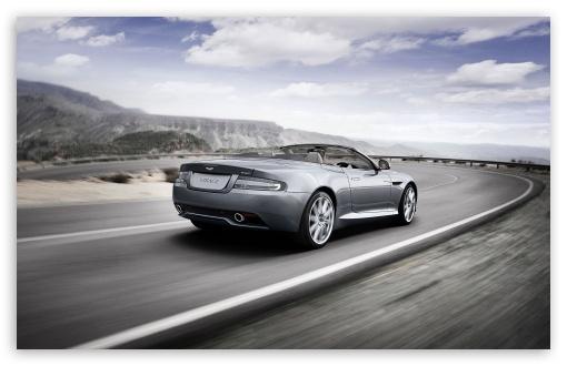 Download Aston Martin Cabrio UltraHD Wallpaper