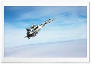 SU 35S Russian Jet Fighter