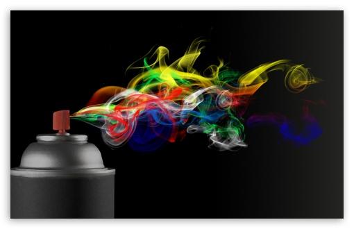 Download Spray UltraHD Wallpaper