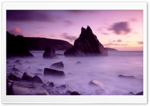 Dusk Cligga Point Cornwall...