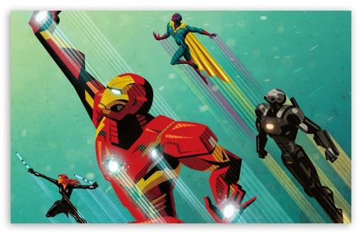 Download Civil War Artwork Iron Man UltraHD Wallpaper