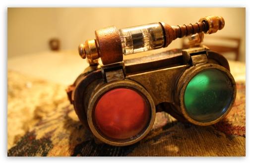 Download Steampunk Glasses UltraHD Wallpaper