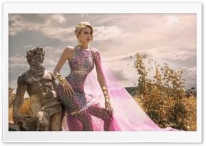 Greek Goddess Style Dress, Woman