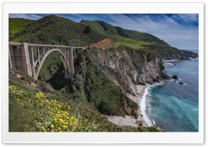 Bixby Creek Arch Bridge, Big...