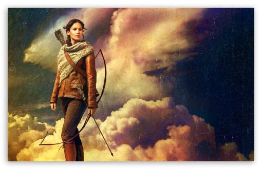 Download The Hunger Games Catching Fire   Katniss... UltraHD Wallpaper