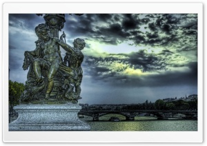 Statuary of Angels HDR
