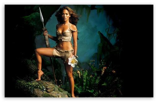 Download Jennifer Lopez Wild UltraHD Wallpaper