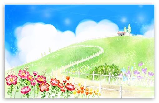Download Summer Art 2 UltraHD Wallpaper