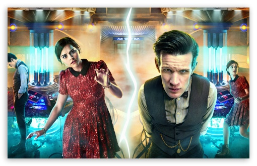 Download Doctor Who Journey to the centre of the Tardis UltraHD Wallpaper