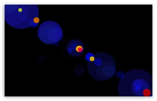 Download Blue Bokeh UltraHD Wallpaper