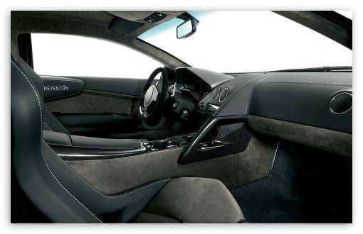 Download 2008 Lamborghini Reventon Interior 1 UltraHD Wallpaper