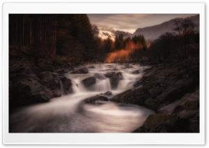 Autumn Landscape, River Orchy