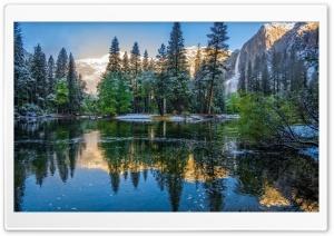 California Yosemite Landscape...