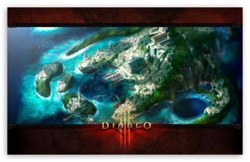 Download Diablo 3 Landscape UltraHD Wallpaper