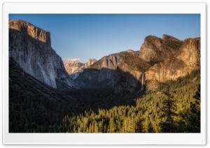 El Capitan, Half Dome, and...