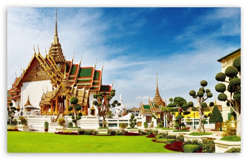 Download Temple In Thailand UltraHD Wallpaper