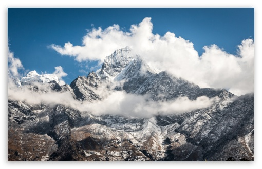 Download Mount Everest Himalaya Mountains UltraHD Wallpaper